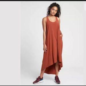 ATHLETA Presidio Dress Russet Brown NWT